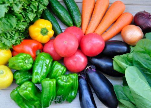 野菜 バランスの良い食事