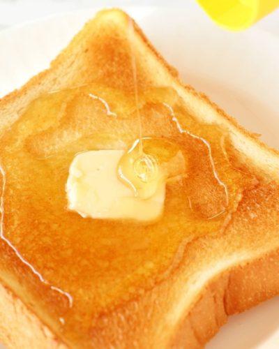 食パン ハチミツ トースト